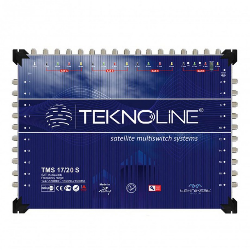 Multiswitch Teknoline TMS 17 .20 S