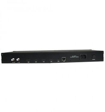 Modulateur DVB-T/T2 4 entree hdmi avec 1 canaux de sortie en dvbt-t2
