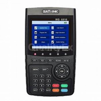 SATLINK WS-6916 HD Pointeur satellite DVB-S DVB-S2 / MPEG-2 & MPEG-4 HDMI