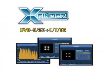 SAB X-Finder 2 HD  DVB-S / S2, DVB-T / T2, DVB-CQPSK