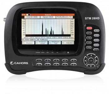 Mesureur compact STM26 HD DVBT-T2/S/S2/C